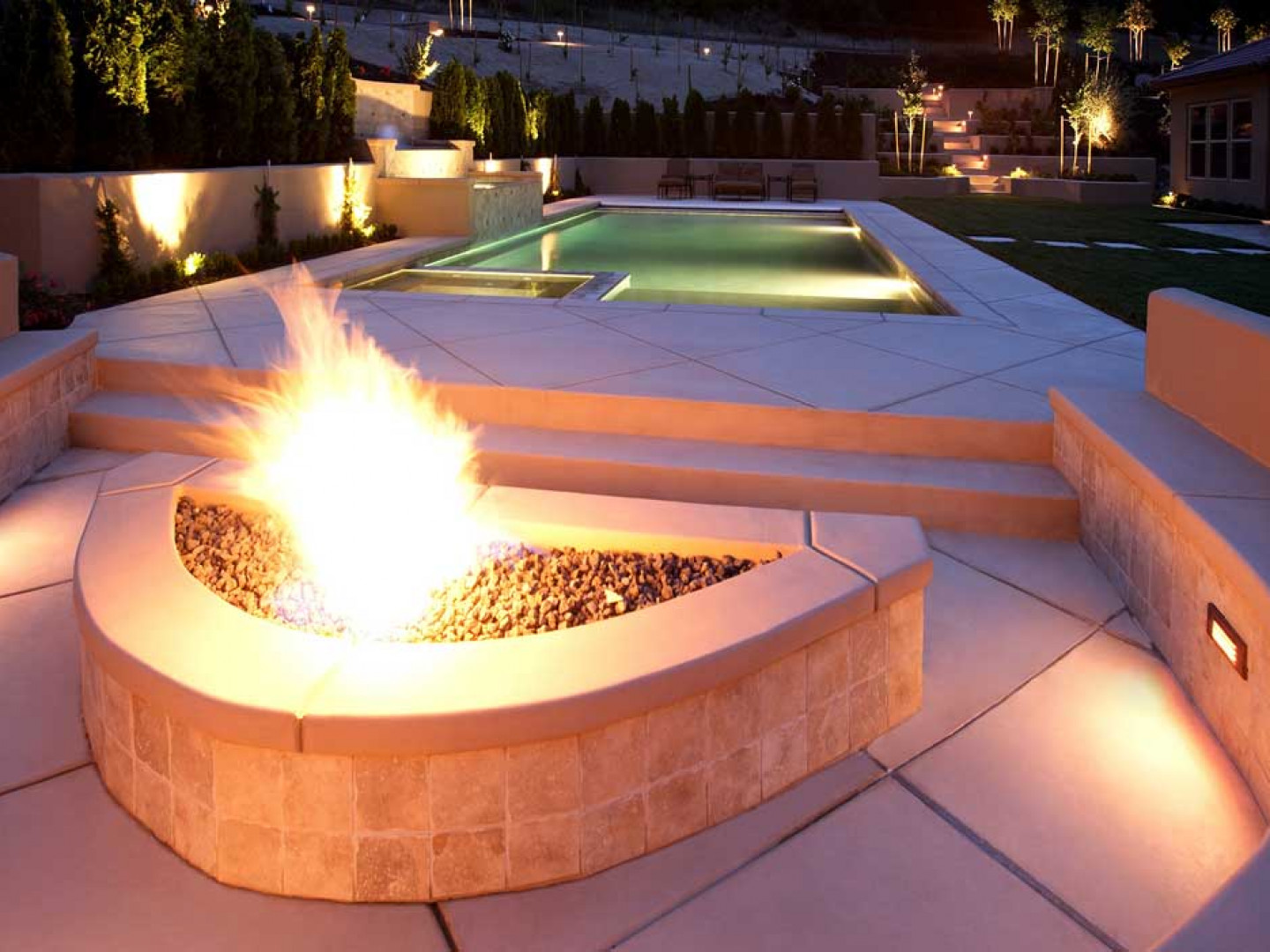 A new fire feature can make the perfect addition to your property